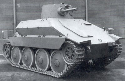 PM 1 flamenthower tank